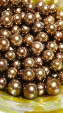 Chocolate Tahitian Pearls Round 10mm to 11mm AA1 Quality
