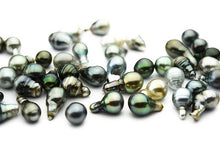 Tahitian Long Drop Loose Pearls (Lot #106)