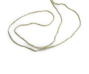 Akoya Keshi pearls 1mm to 2mm strands in Bundles of 10 strands per order
