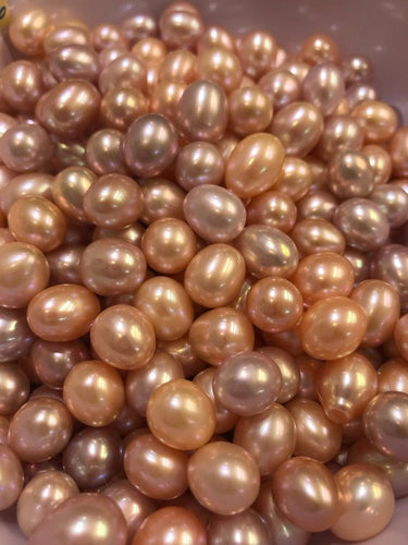 10-11mm AAA Quality, Edison pearls, Natural Color, Drop shapes