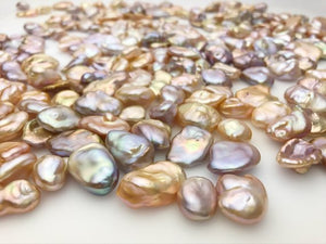 Keshi Edison Pearls, Multi Color