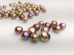 AAA Metallic Edison Loose Pearls 11mm to 12mm (EDM)