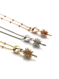 Pineapple Pearl Pendant Setting - 14K Yellow Gold, Rose Gold, White Gold - Setting only. No pearl included. TP-79.