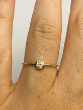 14K Diamond Stacker Rings - Yellow Gold, Rose Gold & White Gold - US Sizes 3 - 11 Available