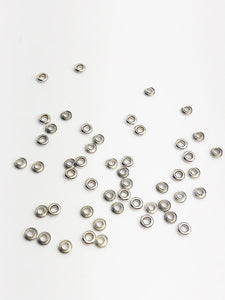 Sterling Silver 4.0mm Bead Grommet with 3.7mm Hole