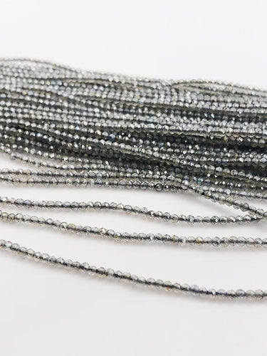 HALF OFF SALE - Labradorite Gemstone Beads, Full Strand, Semi Precious Gemstone, 13
