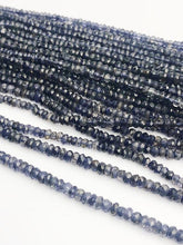 HALF OFF SALE - Lapis Gemstone Beads, Full Strand, Semi Precious Gemstone, 13""