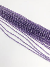 HALF OFF SALE - Amethyst Gemstone Beads, Full Strand, Semi Precious Gemstone, 13""
