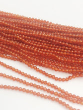 HALF OFF SALE - Coraline Gemstone Beads, Full Strand, Semi Precious Gemstone, 13""