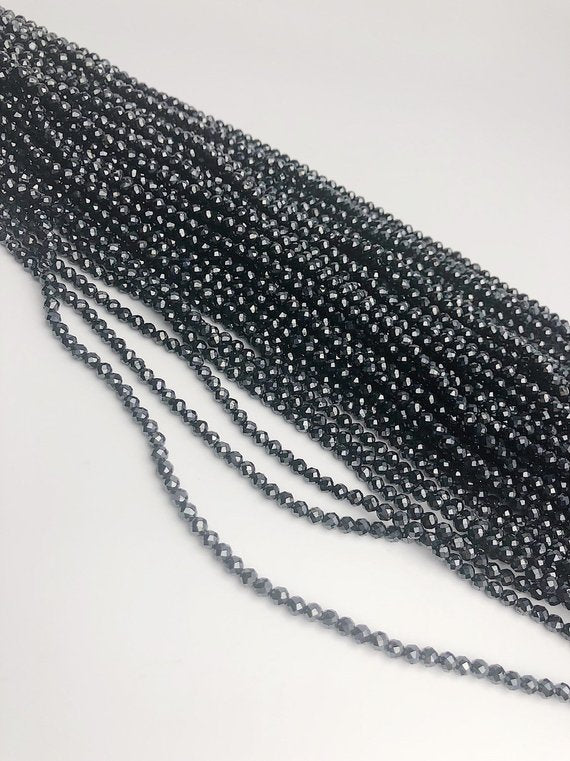 HALF OFF SALE - Coated Spinel Gemstone Beads, Full Strand, Semi Precious Gemstone, 13