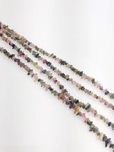 HALF OFF SALE - Tourmaline Gemstone Beads, Full Strand, Semi Precious Gemstone, 15""