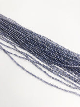 HALF OFF SALE - Iolite Gemstone Beads, Full Strand, Semi Precious Gemstone, 13""