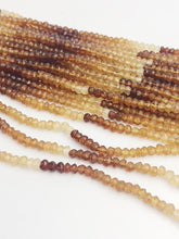 HALF OFF SALE - Multi Hasonite Gemstone Beads, Full Strand, Semi Precious Gemstone, 13""