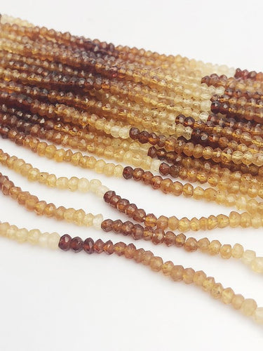 HALF OFF SALE - Multi Hasonite Gemstone Beads, Full Strand, Semi Precious Gemstone, 13
