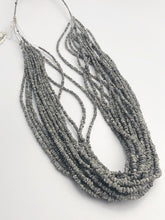 HALF OFF SALE - Gray Diamond Gemstone Beads, Full Strand, 15""