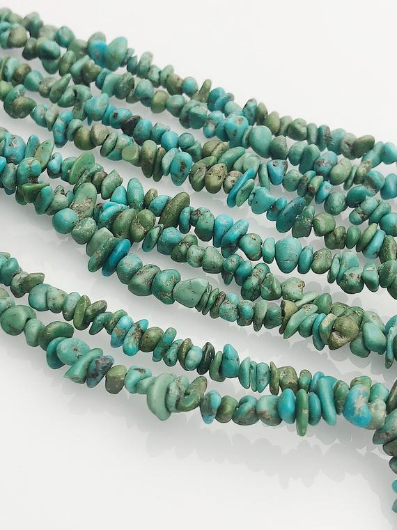 HALF OFF SALE - Turquoise Gemstone Beads, Full Strand, Semi Precious Gemstone, 16