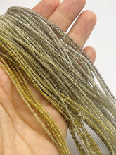 Assorted Color Faceted Diamonds, Gemstone Beads, All Natural Color, Full Strand, 14""