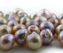 10-14mm Loose Peach and Pink Pearls - Natural Color, sizes 10 to 14mm (RF 002)