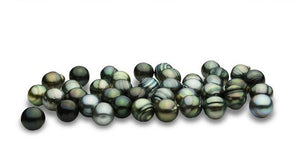 13mm Tahitian Pearls - Circle Shapes - (RF-029)