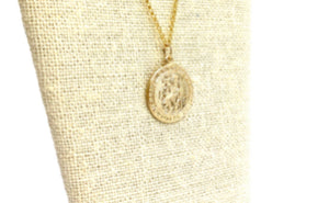 14KGF Saint Christopher Pendant 1733-C