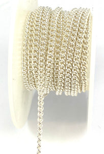 Sterling Silver 3.0mm Curb Chain
