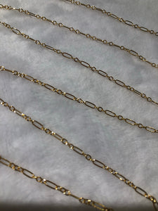 Small Flat Long Short Chain