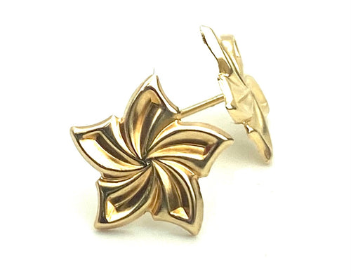 14K Yellow Gold Earrings Sku#E8-2