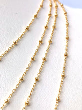 "18"" - 24 "" inch satellite 14KGF chain , 14K gold filled , SKU # SM879/29"