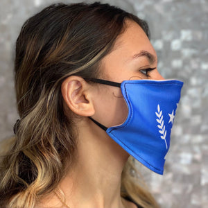 Kosrae State Flag Face Mask