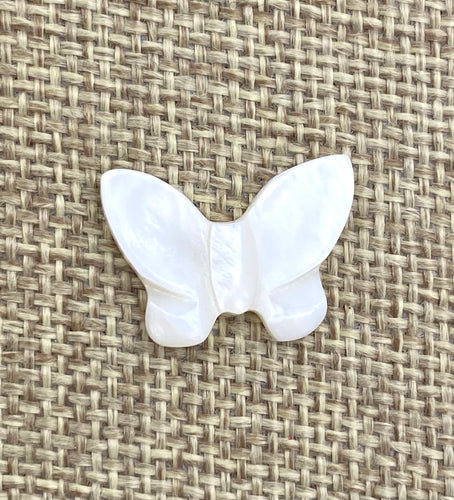 Mother Of Pearls Butterfly Beads, Mother Of Pearl Beads, Sku#M57