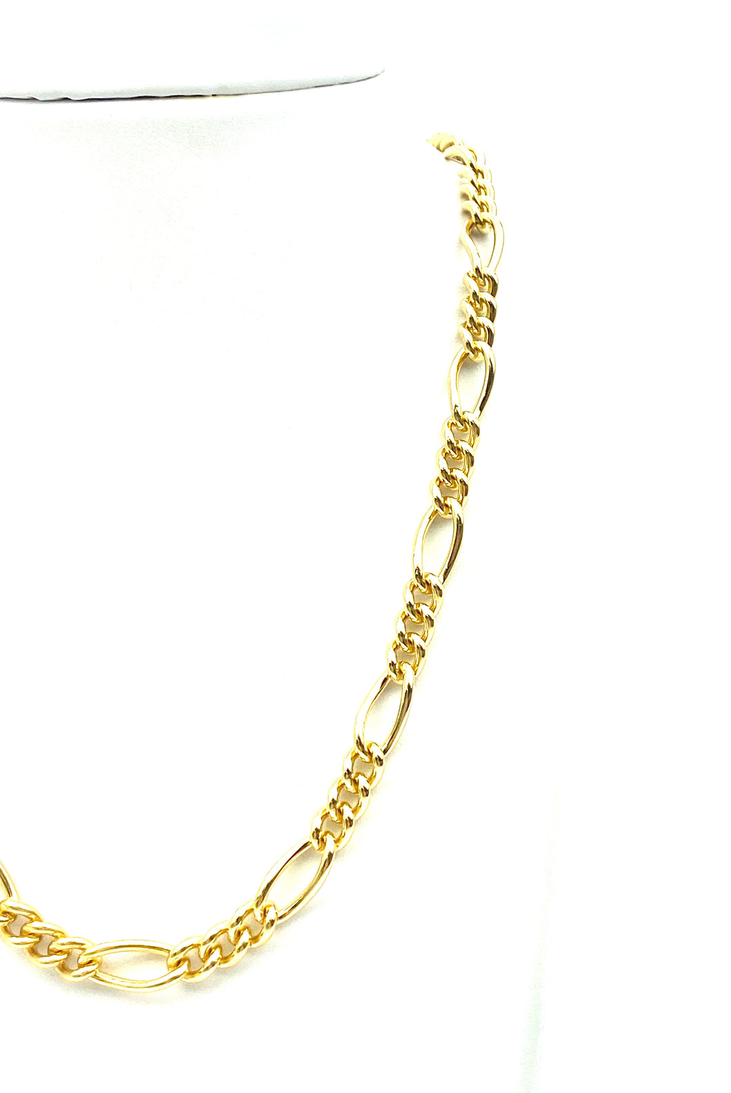 "18"" Figaro 14K gold filled chain , Sku#S7031CLC"