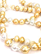 Golden south sea pearl strand , SKU# 070720