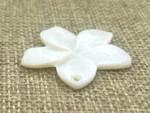 Mother Of Pearls Plumeria Beads, Sku#M65