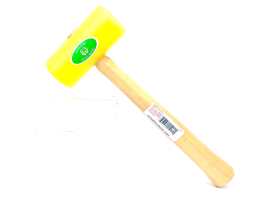 Plastic mallet , yellow head , SKU#15002