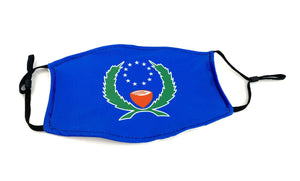 Pohnpei's State Flag Face Mask