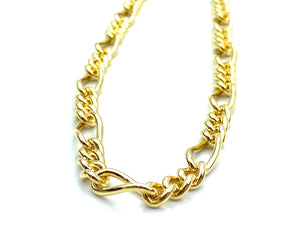"20"" Figaro 14k Gold Filled Chain , Sku#S7031CLC"