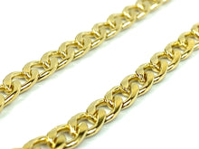 "Gorgeous 14KGF 20"" 4mm Cuban Curb Chain, 14KGF, 14K Gold Filled, 14K Gold Fill, Sku: S4007CHR-20"