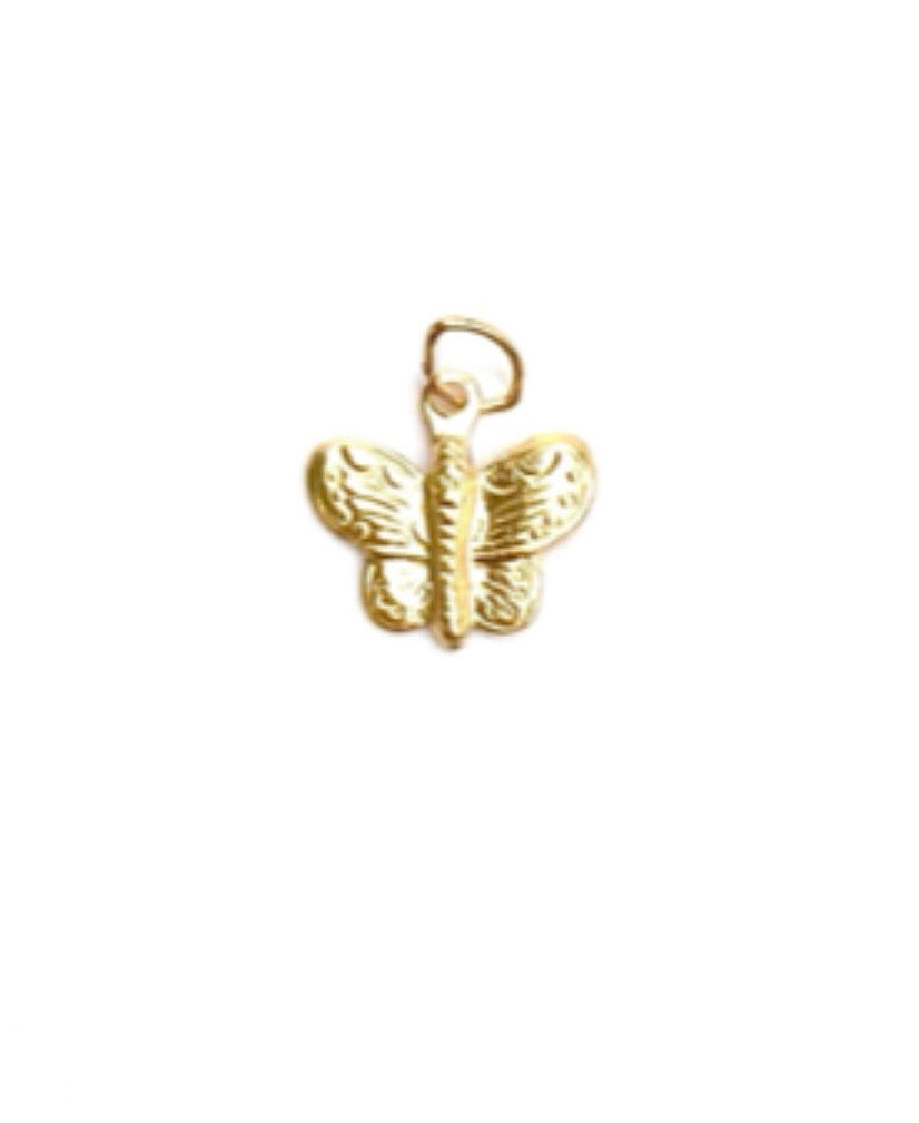 14KGF Butterfly Charm 1818-C
