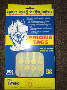 Adhesive Tear-Proof Tags