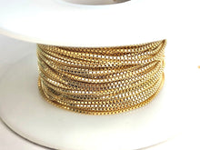 1.0mm 14k Gold Fill Curb Chain S1MM