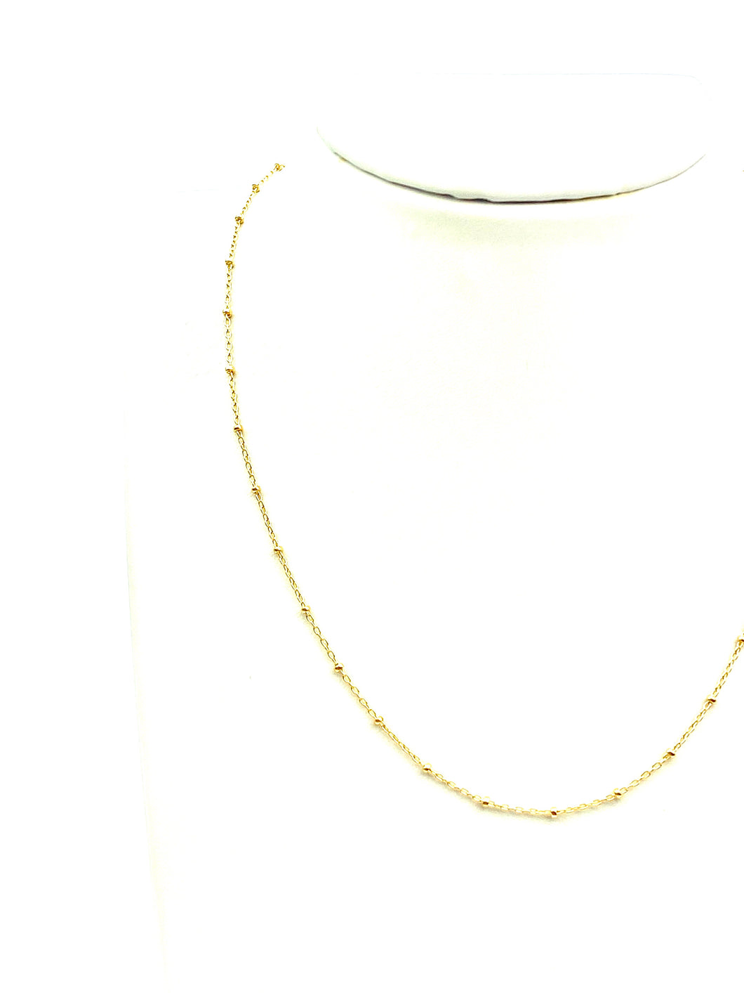 "16"" 14K Gold Filled Satellite Chain , Sku#SM879"