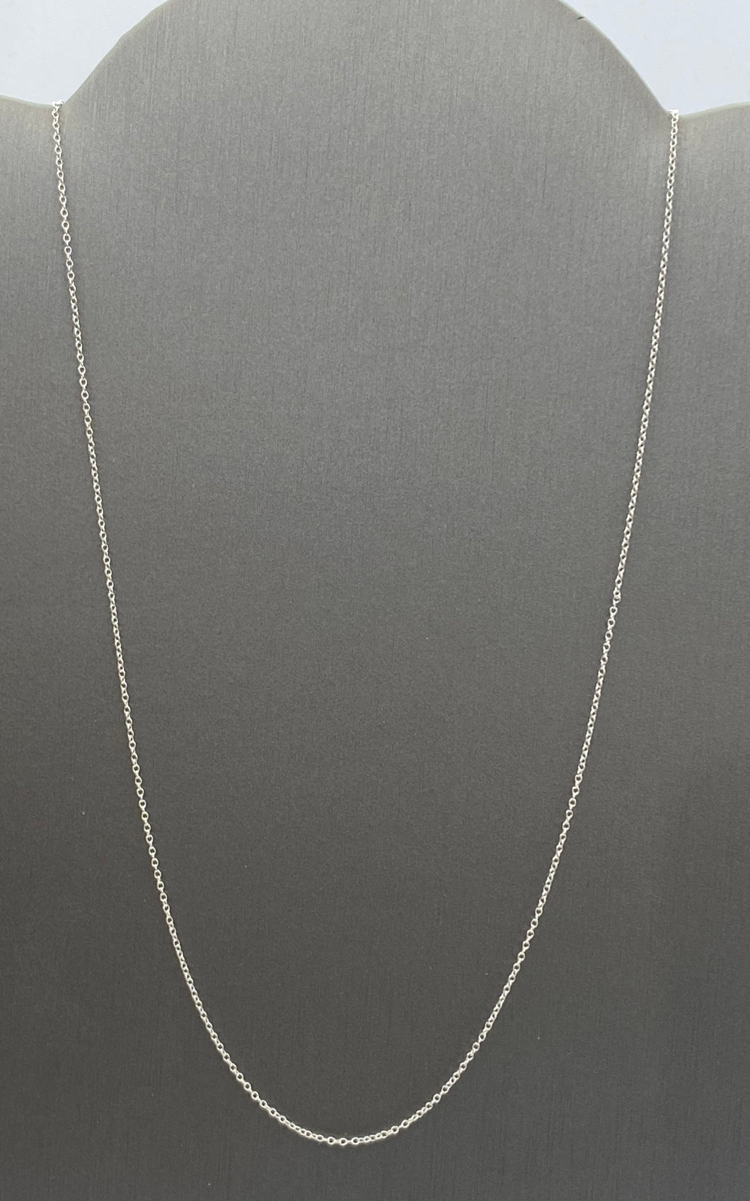 "18"" Sterling Silver Cable Chain , Sku#18ssc"
