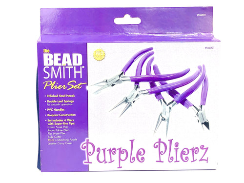 Purple plier set