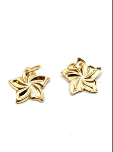 14K solid gold flower, SKU#E8-C