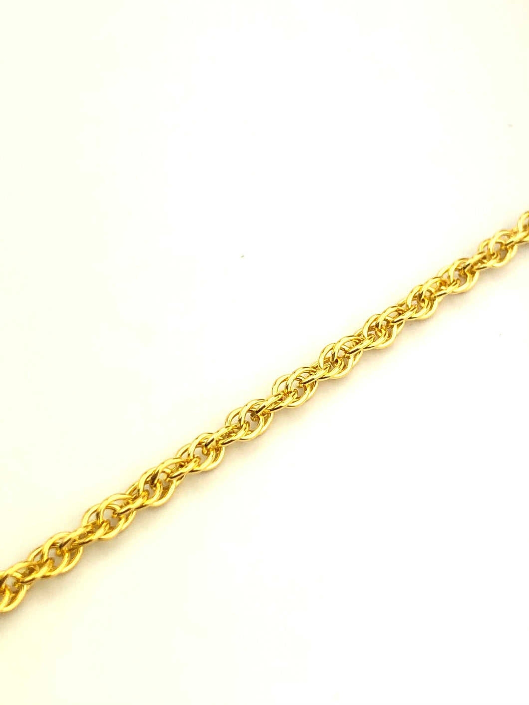 14KGF 1.9mm Double Rope Chain Sku#19R