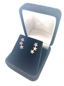 14KGF Star studs, 14K gold filled
