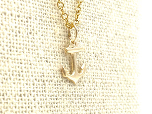 14KGF Anchor Charm , Sku#747-C