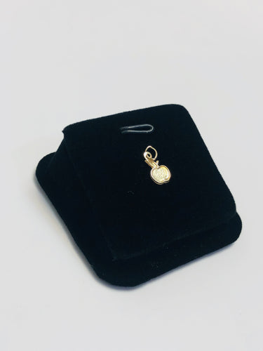 Unique 14k gold filled 1.65mm X 10mm Apple shaped charm/findings sku 480-C