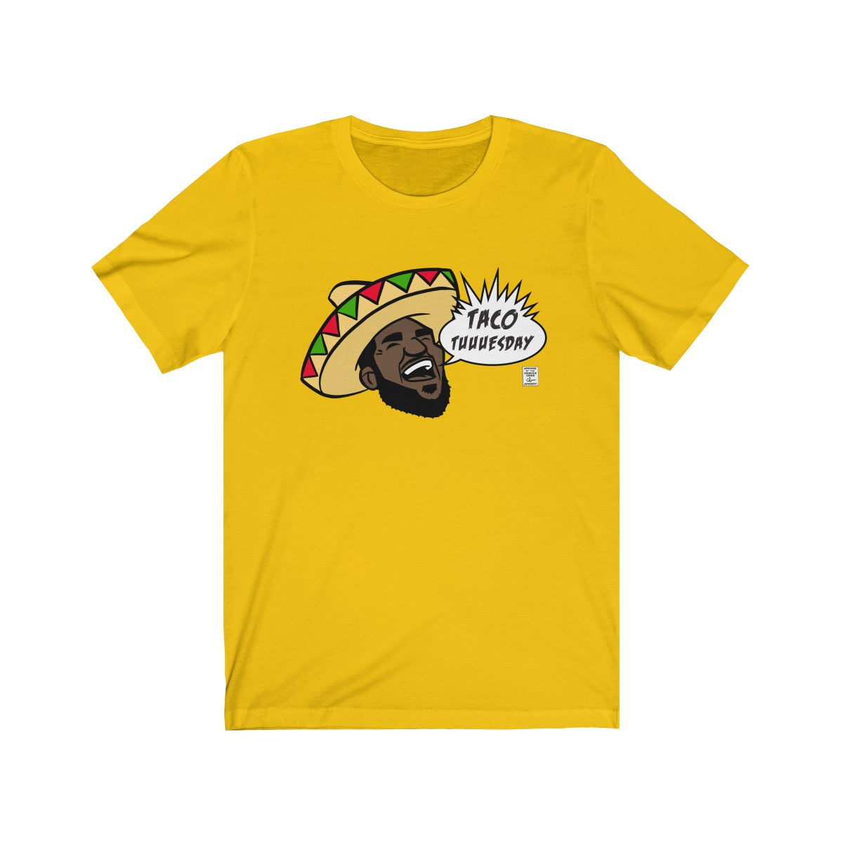 TACO TUESDAY-  Unisex Jersey Short Sleeve Tee