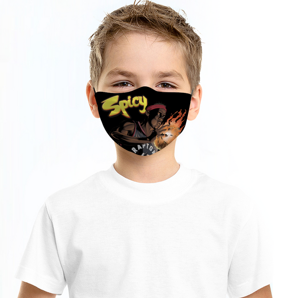 "SPICY ""Flamin Hot"" Children Face Mask"